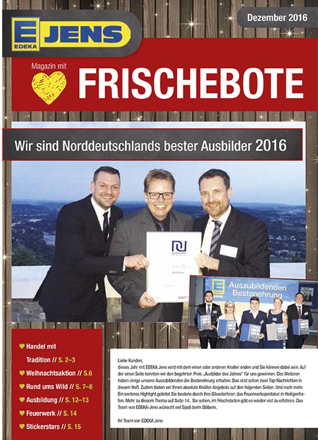 EDEKA Jens Marktzeitung Dezember 2016