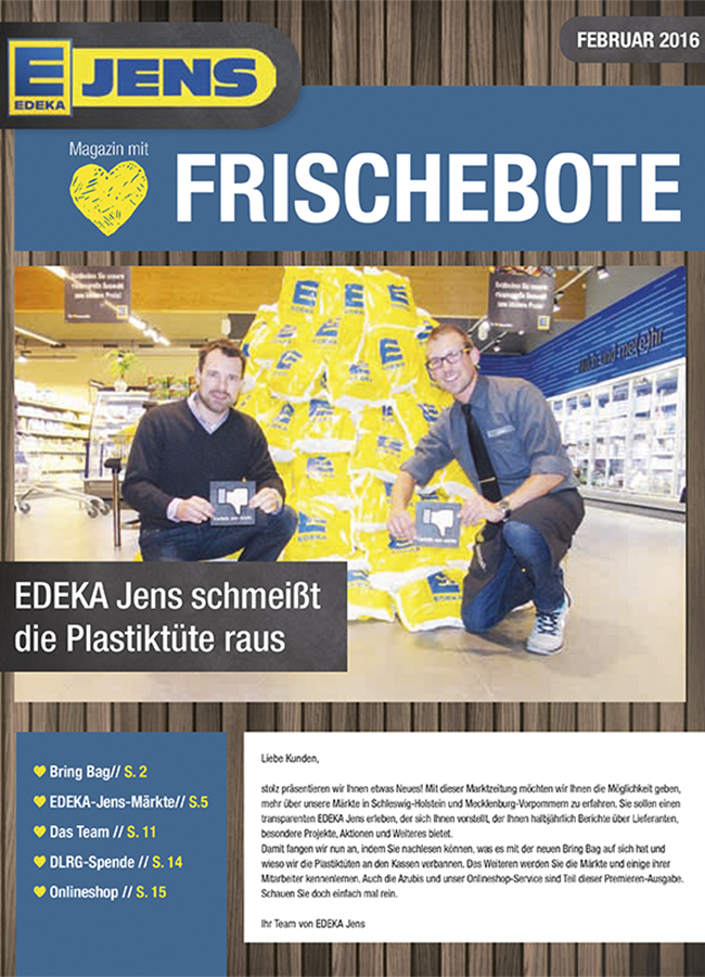 EDEKA Jens Marktzeitung Februar 2016