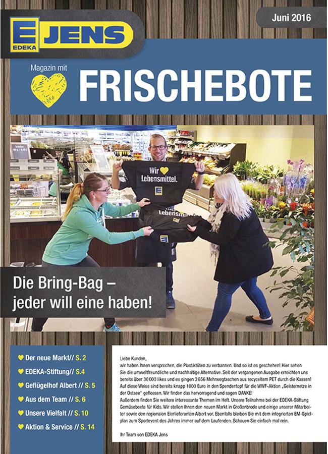 EDEKA Jens Marktzeitung September 2016