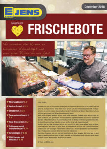 EDEKA Jens Marktzeitung Dezember 2018