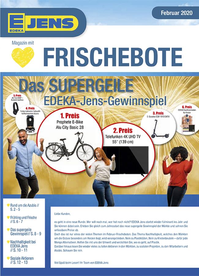 EDEKA Jens Marktzeitung Februar 2020