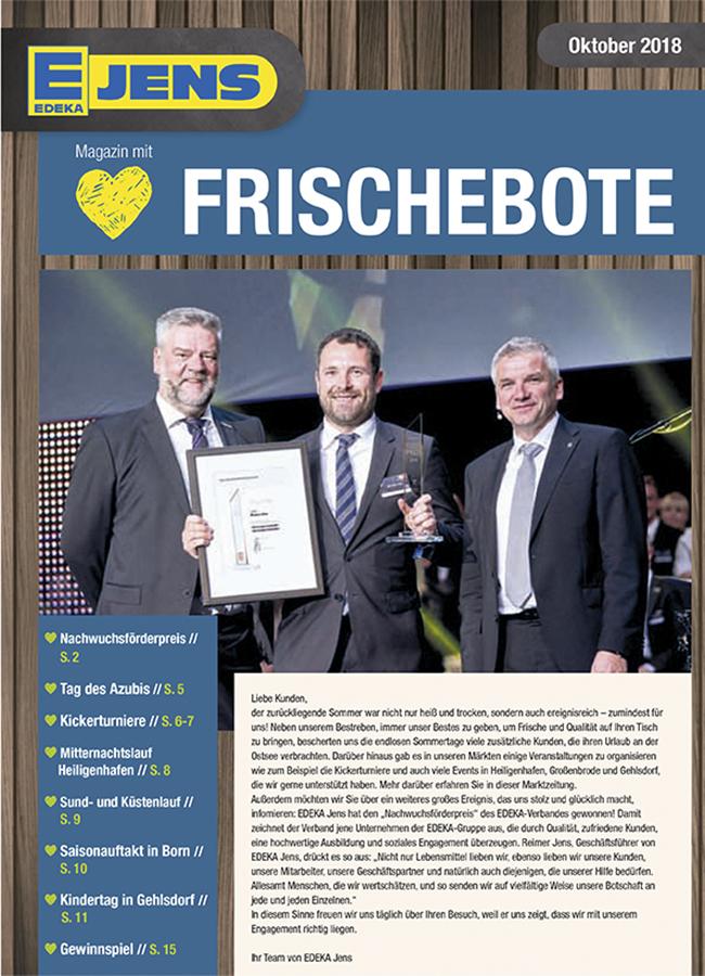 EDEKA Jens Marktzeitung September 2018