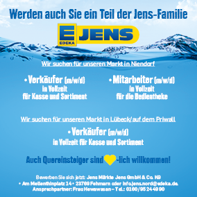 EDEKA Jens Stellenanzeige Verkäufer Jobs