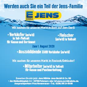 EDEKA Jens Jobs Verkäufer Stellenanzeige