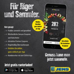 EDEKA Jens Genuss App Für Jäger und Sammler