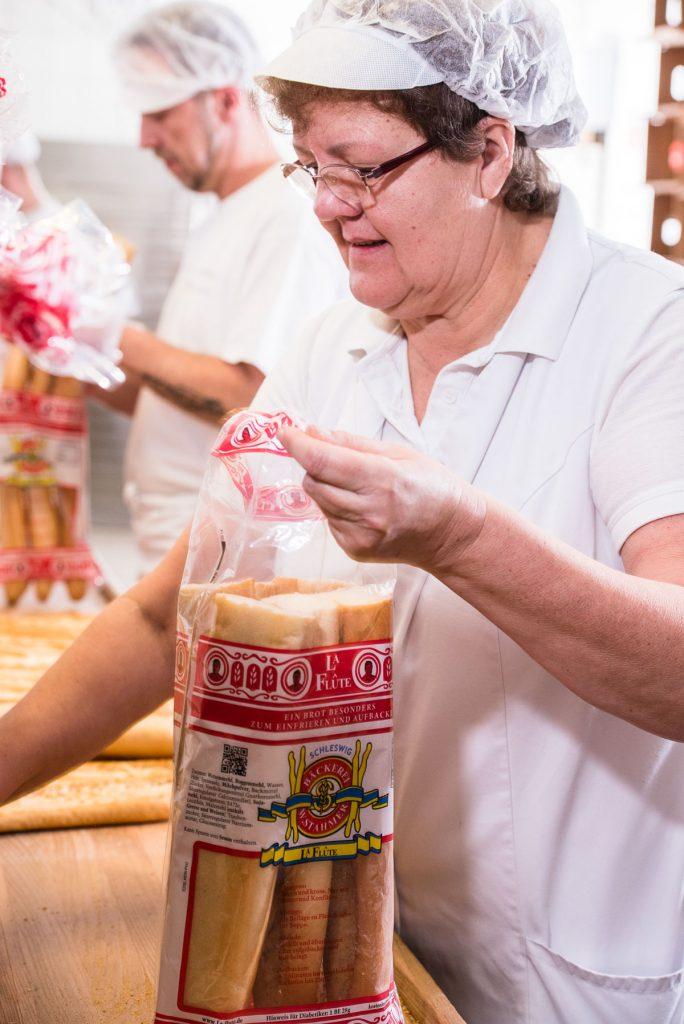 Bäckerei Stahmer Produktion Brot Brötchen Baguette