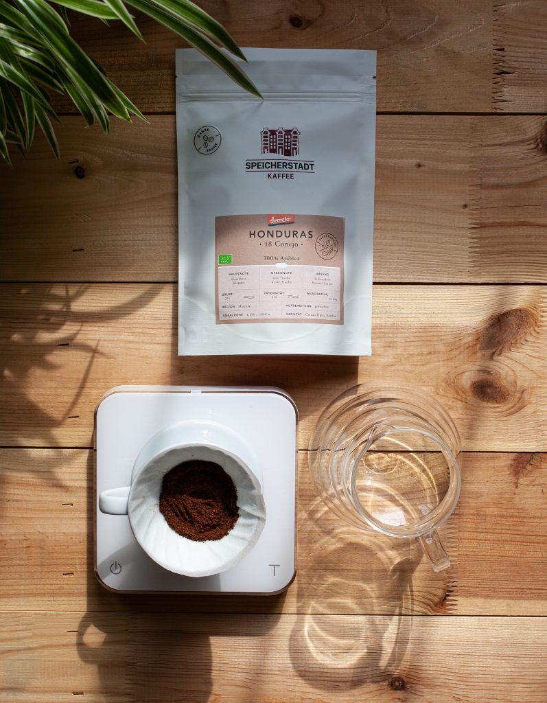 Speicherstadt Kaffeerösterei Demeter Canejo