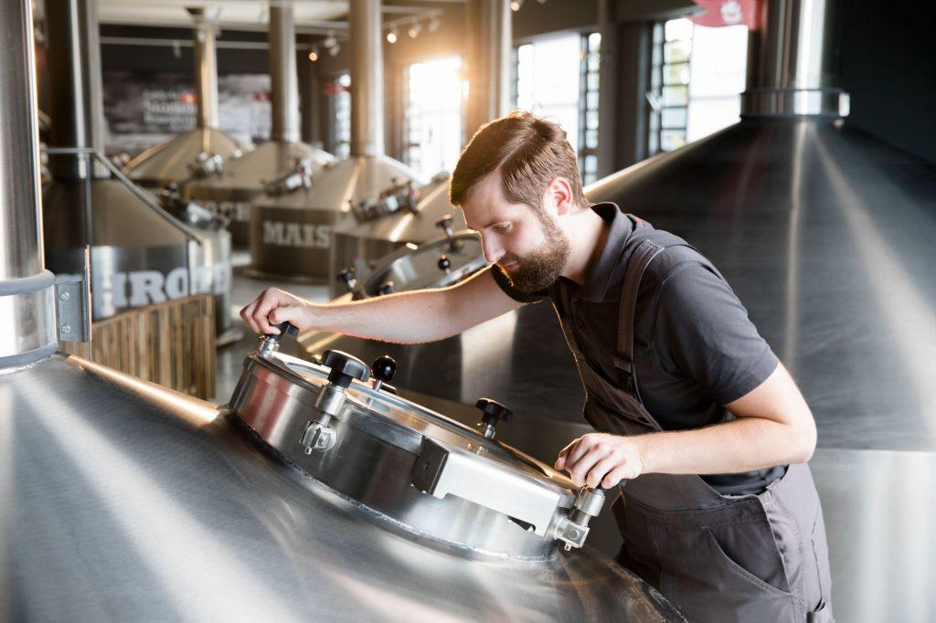 Störtebeker Brauerei Produktion