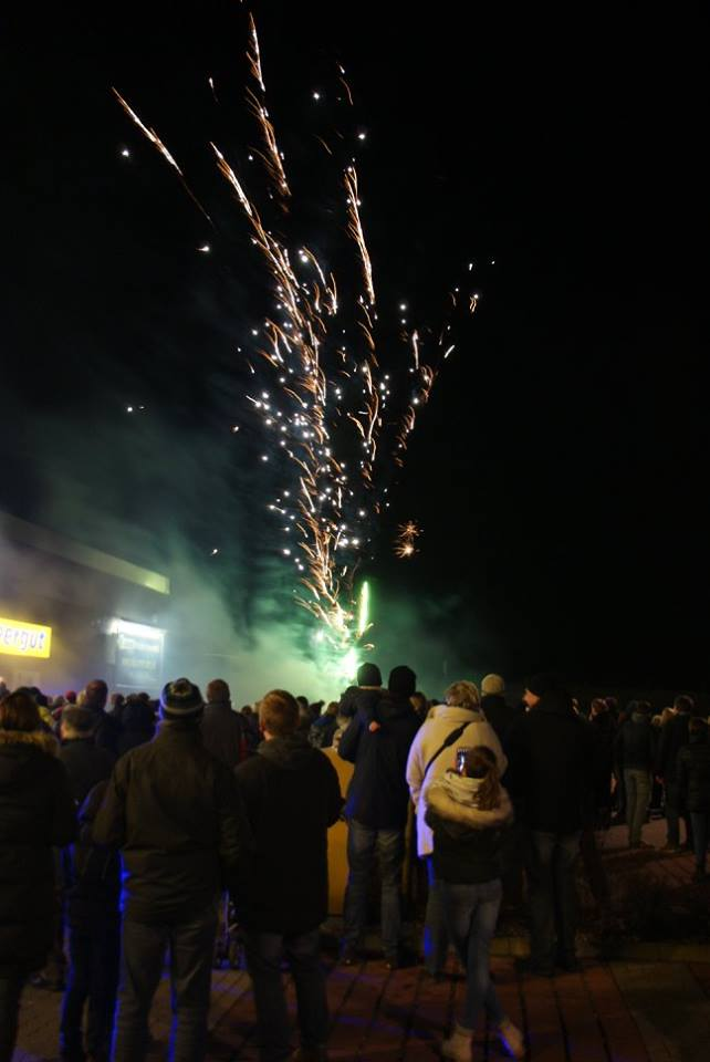 EDEKA Jens Feuerwerk Event