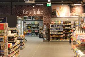 EDEKA Jens Markt Getränke Regale Großenbrode