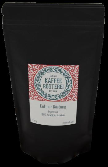 Eutiner Kaffee Rösterei Eutiner Röstung Espresso Arabica Mexiko